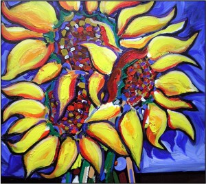 Elements CMHC Sunflower - Art Program